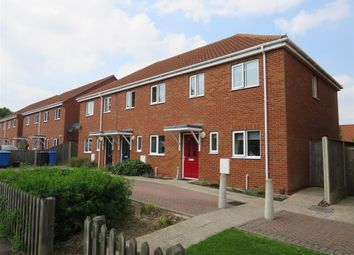 Thumbnail 2 bedroom semi-detached house for sale in Elizabeth Fry Road, Norwich