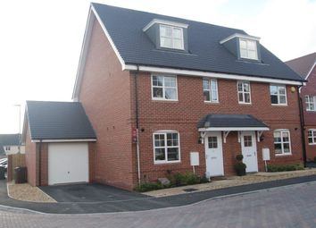 Thumbnail 3 bed semi-detached house to rent in Eton Dorney, Arena Close, Andover