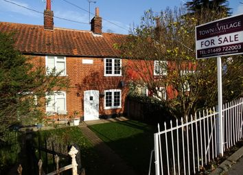 Thumbnail 1 bed terraced house for sale in Main Road, Chelmondiston, Ipswich