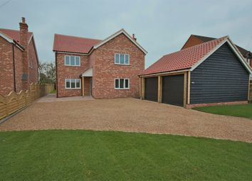 Thumbnail 4 bed detached house for sale in The Street, Tibenham, Norwich, Norfolk