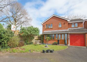 Thumbnail 4 bed detached house for sale in Packwood Close, Webheath, Redditch