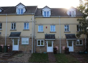 Thumbnail 3 bed terraced house for sale in Lakeside Drive, Plymouth