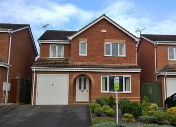 Thumbnail 4 bed detached house to rent in Merlin Way, Mickleover, Derby