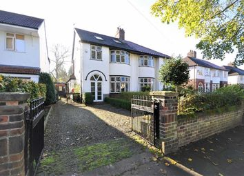 Thumbnail 4 bedroom semi-detached house for sale in Thornhill Road, Heaton Mersey, Stockport, Cheshire