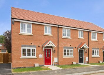Thumbnail 3 bedroom end terrace house for sale in Heatherley Grove, Wigston, Leicester