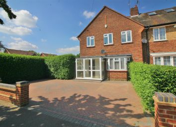 Thumbnail 3 bedroom end terrace house for sale in Cameron Drive, Waltham Cross, Herts