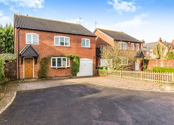 Thumbnail 6 bed detached house for sale in Richardson Close, Stoney Stanton, Leicester