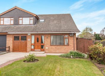 Thumbnail 3 bed semi-detached bungalow for sale in Cambridge Avenue, Marton-In-Cleveland, Middlesbrough