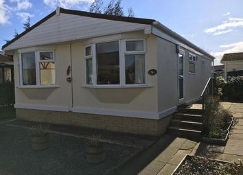 Thumbnail 2 bed mobile/park home for sale in The Croft, Wyre Vale Park, Garstang
