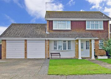Thumbnail 3 bed link-detached house for sale in Whiteness Green, Kingsgate, Broadstairs, Kent