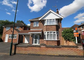 Thumbnail 3 bed detached house for sale in Forest Rise, Thurnby, Leicester