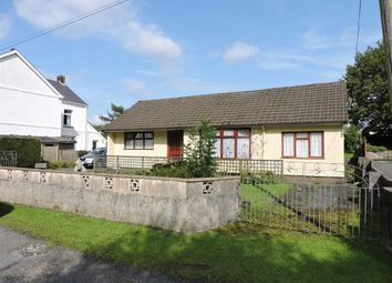 Thumbnail 3 bed detached bungalow for sale in Deri Road, Glanamman, Ammanford