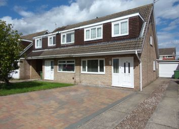 Thumbnail 3 bedroom semi-detached house for sale in Curlew Way, Blyth