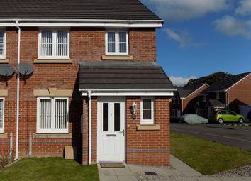 Thumbnail 3 bed semi-detached house for sale in Ffordd Y Dolau, Llanharan, Pontyclun, Rhondda, Cynon, Taff.