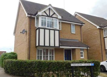 Thumbnail 3 bed detached house to rent in Faraday Close, Yaxley, Peterborough