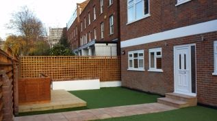 Thumbnail 4 bed terraced house to rent in Belsize Road, London