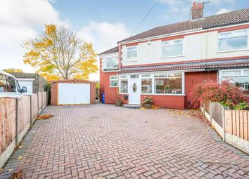 Thumbnail 4 bed semi-detached house for sale in Highfield Crescent, Widnes, Cheshire, .