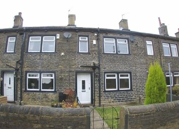 Thumbnail 2 bed cottage to rent in Stephen Row, Northowram, Halifax