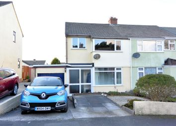 Thumbnail 3 bed semi-detached house for sale in Margaret Crescent, Bodmin