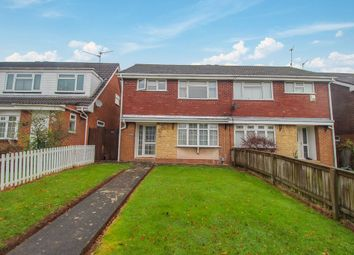 Thumbnail 3 bed semi-detached house for sale in Bryncyn, Pentwyn, Cardiff