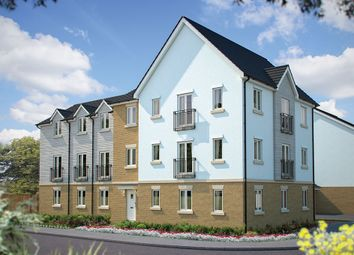 "Thumbnail 2 bed flat for sale in ""Rastell House"" at Poethlyn Drive, Costessey, Norwich"