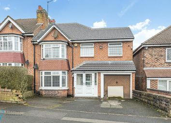 Thumbnail 4 bed semi-detached house for sale in Sandwell Road, Birmingham, West Midlands