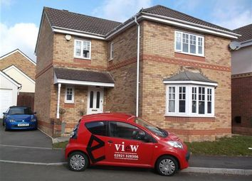 Thumbnail 4 bed detached house to rent in Woodruff Way, Thornhill, Cardiff