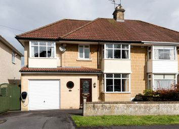 Thumbnail 4 bed semi-detached house for sale in Hansford Square, Combe Down, Bath