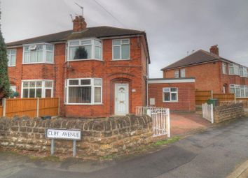 Thumbnail 4 bed semi-detached house to rent in Cliff Avenue, Loughborough