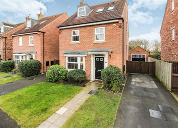 Thumbnail 4 bed detached house for sale in Mill Chase, Nafferton, Driffield