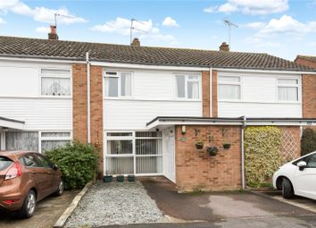 Thumbnail 3 bed terraced house for sale in Roakes Avenue, Addlestone, Surrey