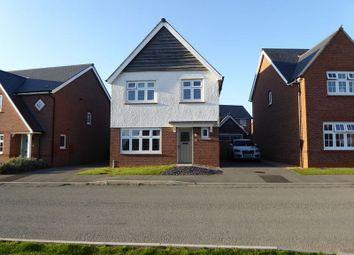 Thumbnail 3 bed detached house for sale in Lon Y Wyddfa, Penrhosgarnedd, Bangor