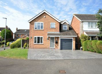 Thumbnail 4 bed detached house for sale in Foxglove Avenue, Stapenhill, Burton-On-Trent