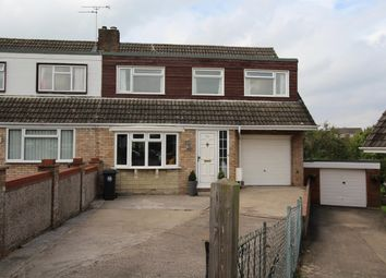 Thumbnail 4 bedroom semi-detached house for sale in Holsom Close, Stockwood, Bristol