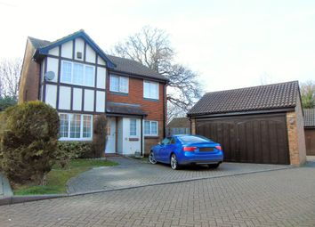 Thumbnail 4 bed detached house for sale in Windmill Court, West Green, Crawley
