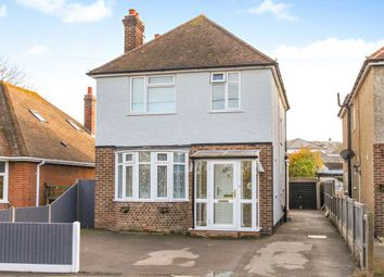 Thumbnail 3 bed detached house for sale in Belmont Road, Whitstable