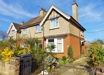 Thumbnail 3 bed semi-detached house for sale in Cavalry Crescent, Eastbourne