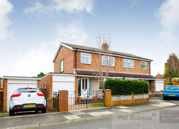 Thumbnail 3 bed semi-detached house for sale in Ridley Close, Red House Farm, Gosforth
