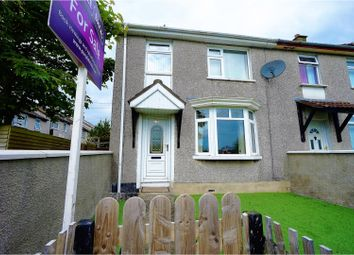 Thumbnail 3 bed end terrace house for sale in Owenroe Drive, Bangor