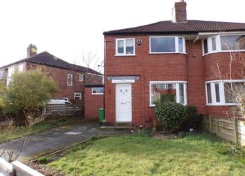 Thumbnail 3 bed semi-detached house for sale in Riverton Road, Didsbury, Manchester, Greater Manchester