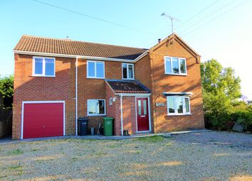 Thumbnail 4 bed detached house to rent in Lime Kiln Road, West Dereham, King's Lynn