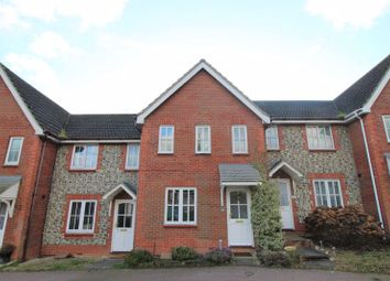 Thumbnail 3 bed terraced house to rent in Alan Avenue, Newton Flotman, Norwich