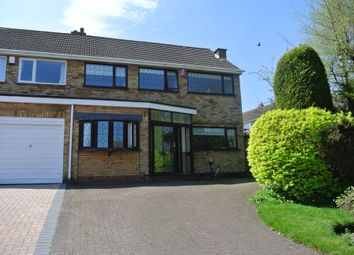 Thumbnail 3 bed semi-detached house to rent in Bankside Crescent, Streetly, Sutton Coldfield