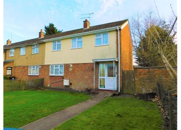 Thumbnail 3 bedroom end terrace house for sale in Kirby Close Park South, Swindon