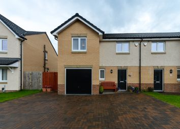 Thumbnail 3 bed semi-detached house for sale in Glen Shira Drive, Dumbarton