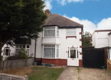 Thumbnail 3 bedroom semi-detached house for sale in Haslucks Green Road, Shirley, Solihull