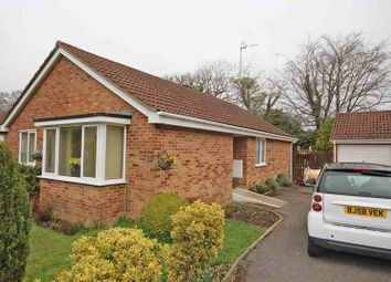 Thumbnail 3 bed detached bungalow for sale in Crockford Close, New Milton