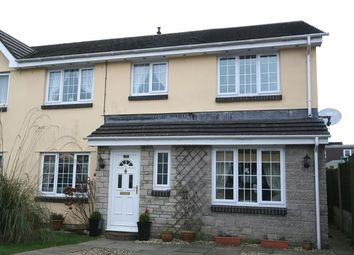 Thumbnail 4 bed semi-detached house for sale in Heol Ger-Y-Felin, Llantwit Major
