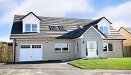 Thumbnail 4 bed detached house to rent in Kemnay Road, Kemnay, Inverurie