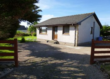 Thumbnail 2 bed detached bungalow for sale in Heatherlea, Halkirk, Caithness